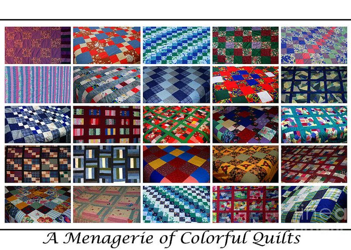 Bedquilts Greeting Cards