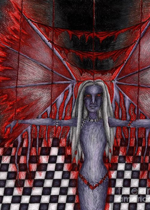 Fears Psychic Drawings Greeting Cards