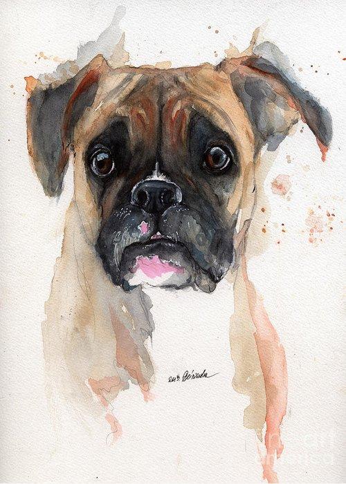 Boxer Dog Art Fine Art America
