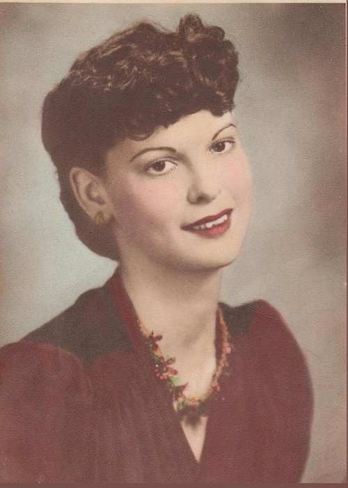 Vintage Photographs Greeting Card featuring the photograph A Real Lady by Donna Wilson