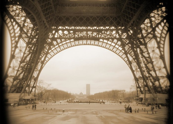 Paris Greeting Card featuring the photograph A Walk Through Paris 14 by Mike McGlothlen