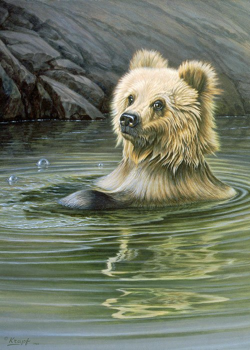 Brown Bear Greeting Cards