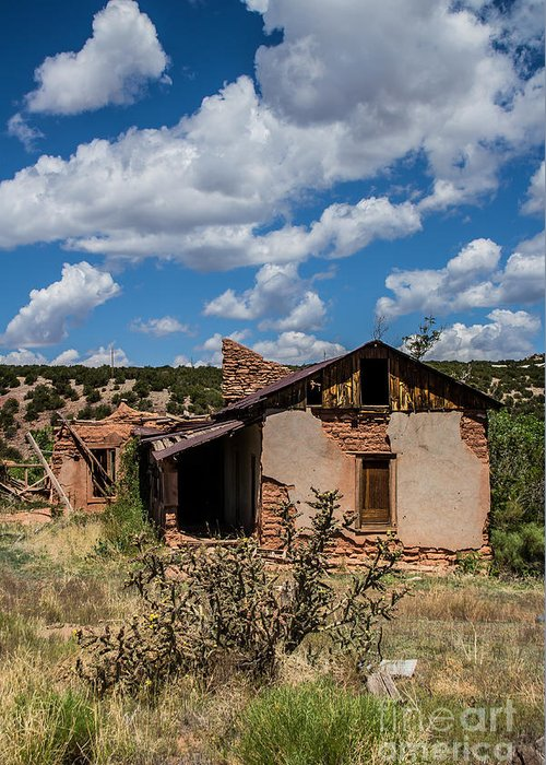 Abandoned Buildings Greeting Card featuring the photograph Abandoned 2 by Jim McCain