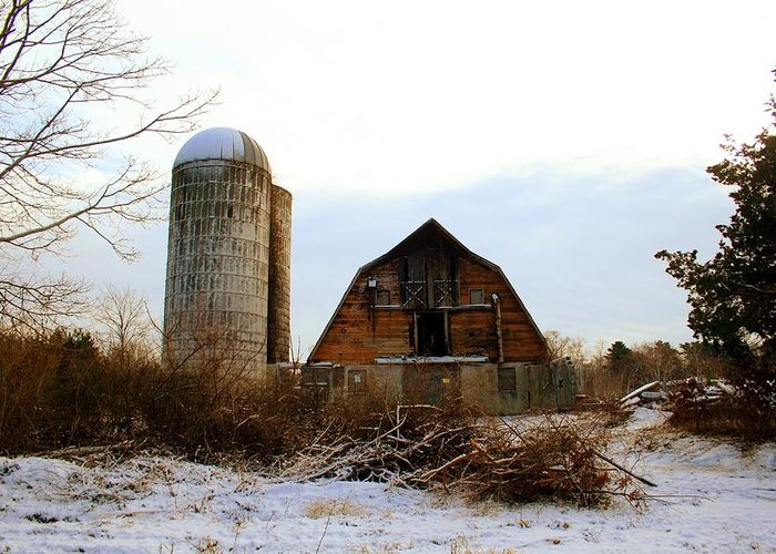 Cape Cod Greeting Card featuring the photograph Abandoned Farm 2 by MPG Artworks