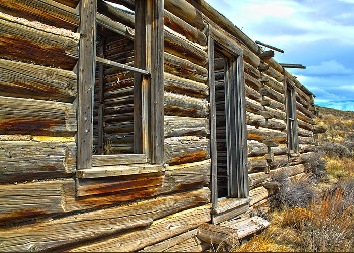 Abandoned Greeting Card featuring the photograph Abandoned Homestead by Shane Bechler