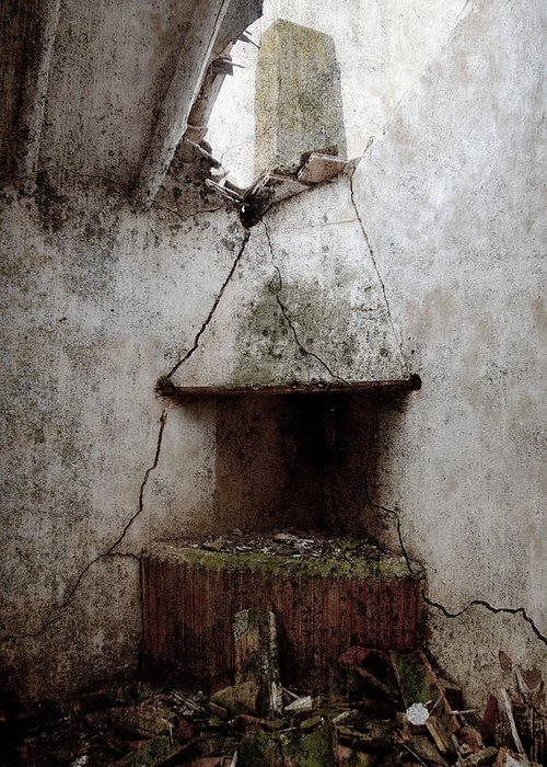 Grunge Greeting Card featuring the photograph Abandoned Little House 2 by RicardMN Photography