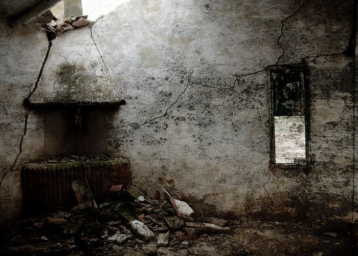 Grunge Greeting Card featuring the photograph Abandoned Little House 3 by RicardMN Photography
