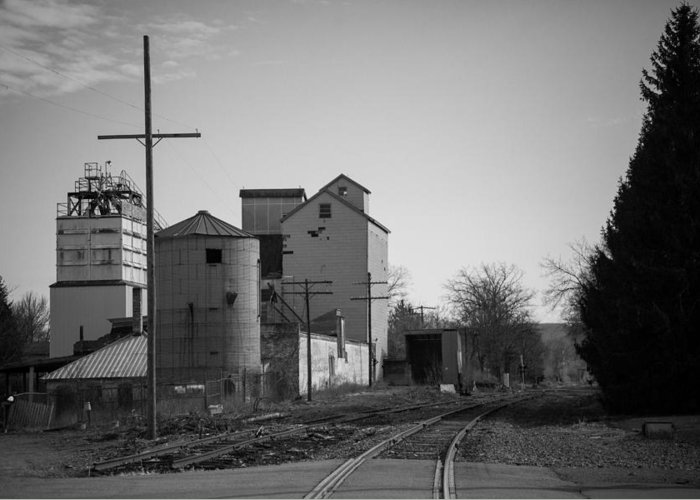 Abandoned Greeting Card featuring the photograph Abandoned Mill by Richard LaVere