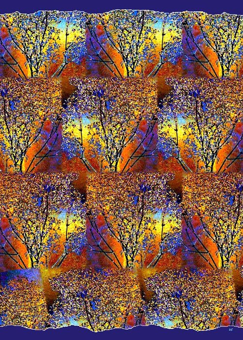 Abstract Fusion Greeting Card featuring the digital art Abstract Fusion 142 by Will Borden