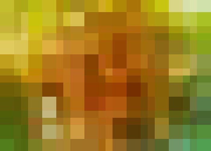 Thermal Greeting Card featuring the digital art Abstract Geometric Background by Florian Augustin