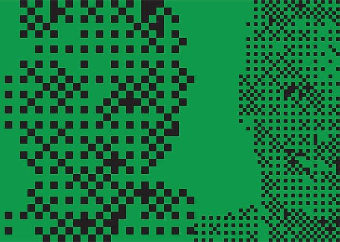 Pop Art Digital Art Greeting Card featuring the digital art Ad016 Tnm by Mark Van den dries