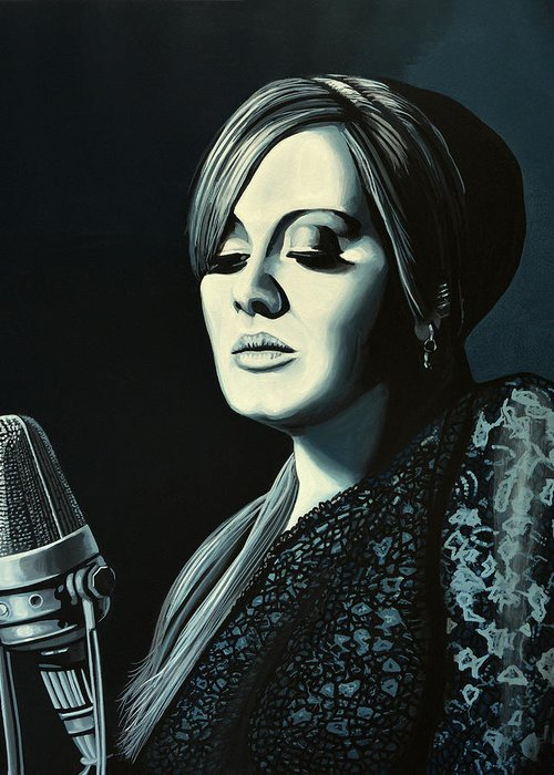 Adele Greeting Cards