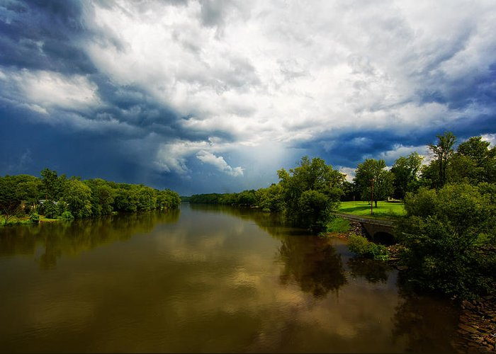 Storm Greeting Card featuring the photograph After The Storm by Everet Regal