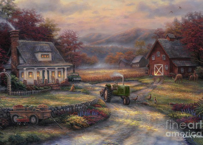 Tractors Greeting Cards