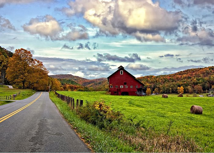 West Virginia Greeting Card featuring the photograph Ah...west Virginia by Steve Harrington