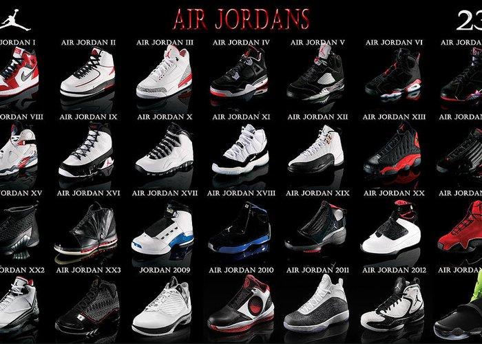 Michael Jordan Greeting Cards