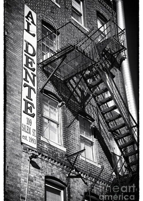 Al Dente Greeting Card featuring the photograph Al Dente by John Rizzuto
