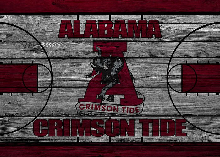 Crimson Tide Photographs Greeting Cards