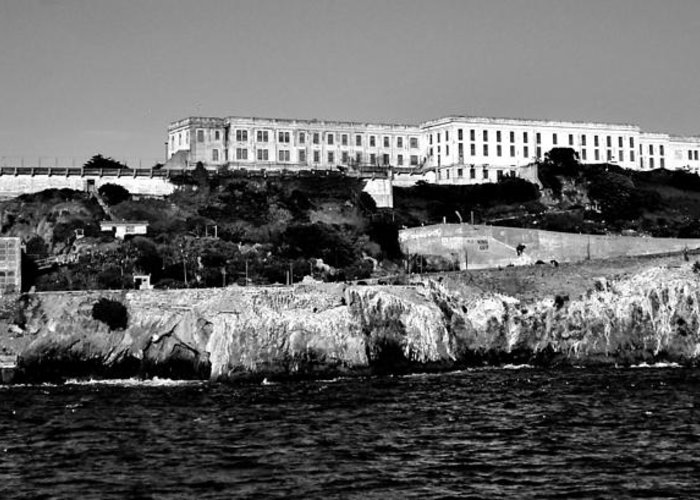Alcatraz Greeting Card featuring the photograph Alcatraz Federal Prison by Benjamin Yeager