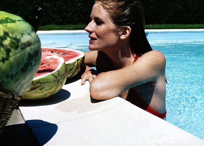 Water-melon Greeting Cards