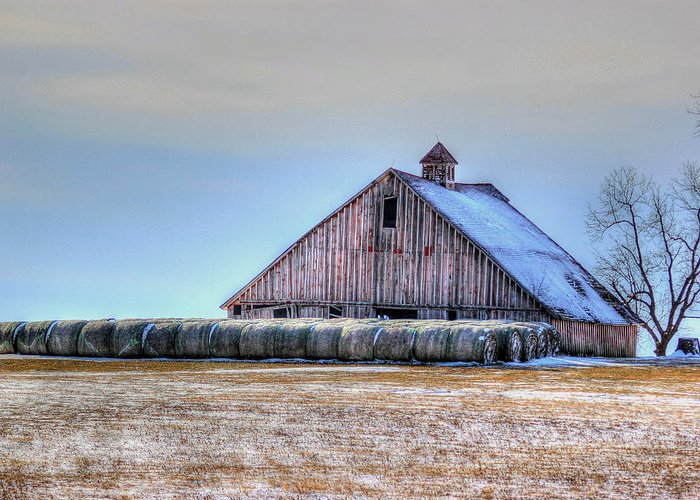 Barn Greeting Card featuring the photograph Allurement by Thomas Danilovich
