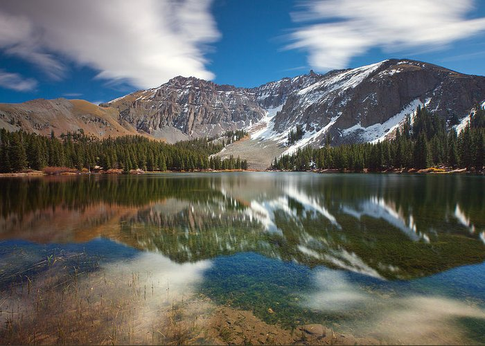 Lake Greeting Card featuring the photograph Alta Lakes by Darren White