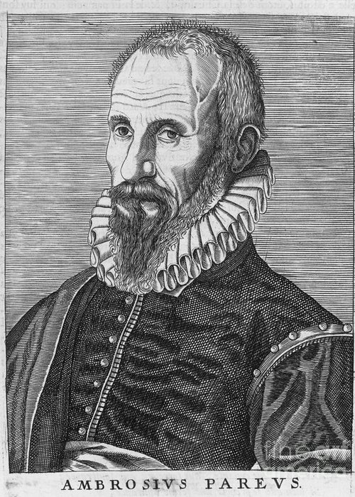 16th Century Greeting Card featuring the photograph Ambrose Pare (1517?-1590) by Granger
