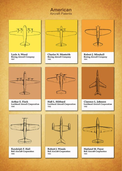 Boeing blueprint greeting cards fine art america boeing blueprint greeting cards malvernweather Images