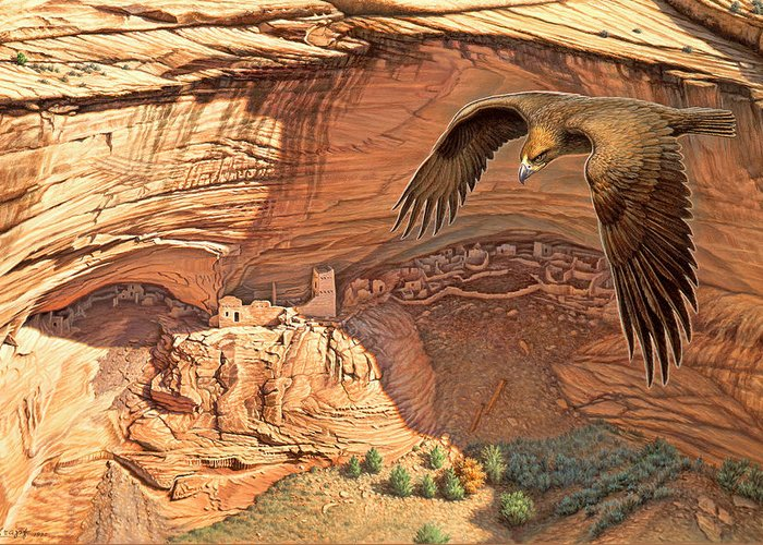 Cliff Dwelling Greeting Cards