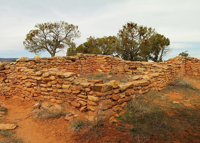 Architecture Greeting Card featuring the photograph Anasazi Ruins Southern Utah by Jeff Swan