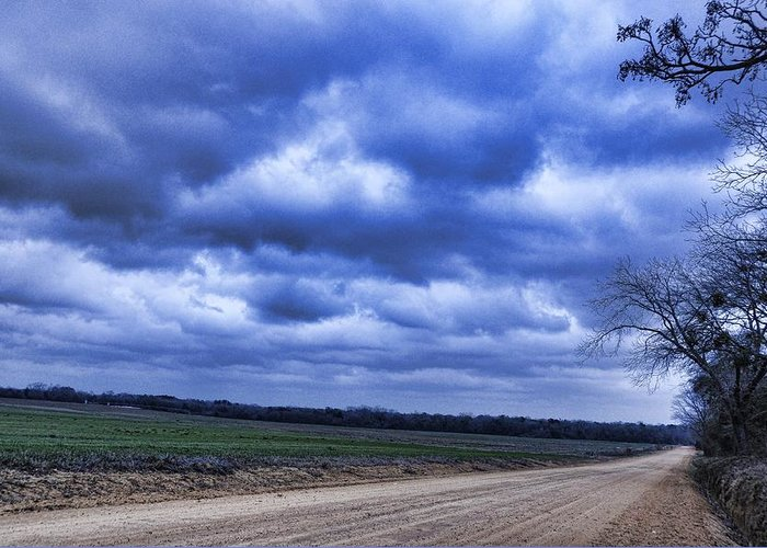 Landscapes Greeting Card featuring the photograph And The Thunder Rolls by Jan Amiss Photography