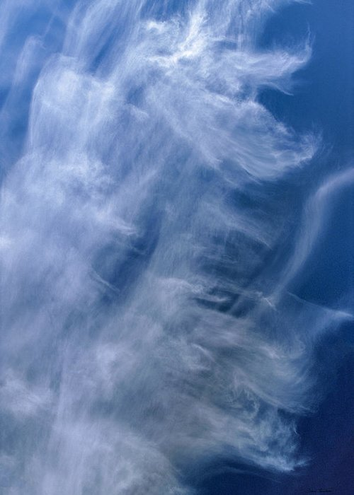 Cloud Greeting Card featuring the photograph Angel Wings by Bruce Thompson