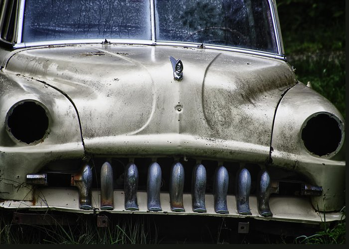 Transportation Greeting Card featuring the photograph Angry by Joan Carroll