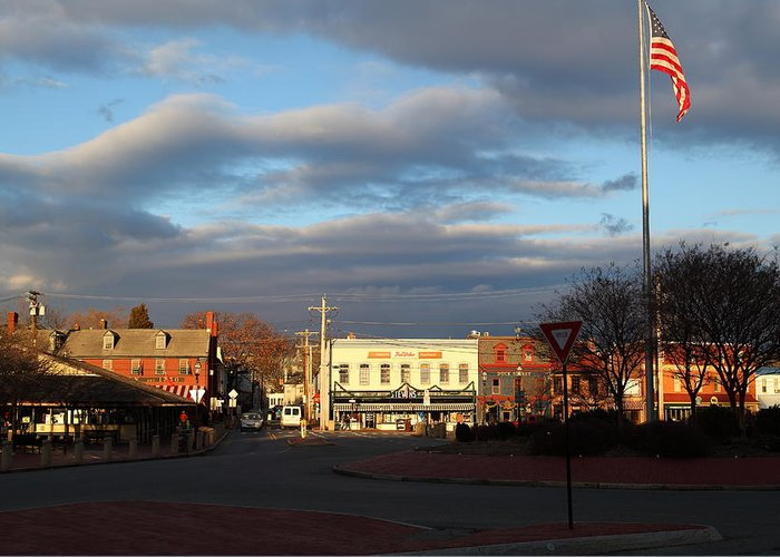 Annapolis Greeting Card featuring the photograph Annapolis Md - 01131 by DC Photographer