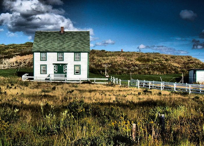House Greeting Card featuring the photograph Ann's House Renews Nl by Douglas Pike