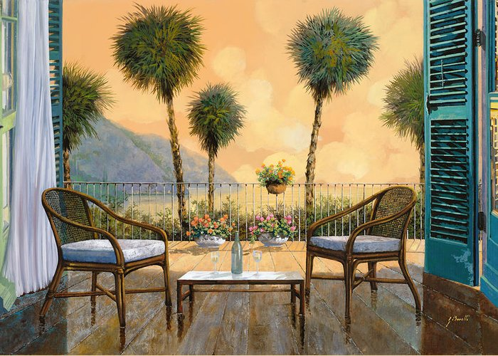 Balconies Greeting Cards