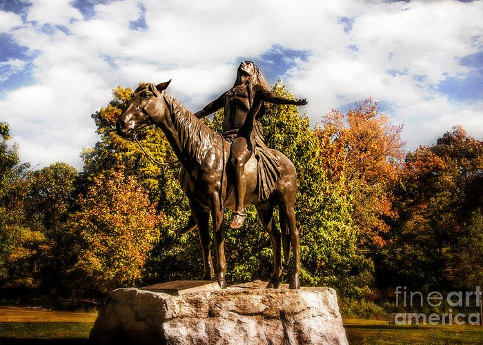woodard Park Greeting Card featuring the photograph Appeal To The Great Spirit by Tamyra Ayles