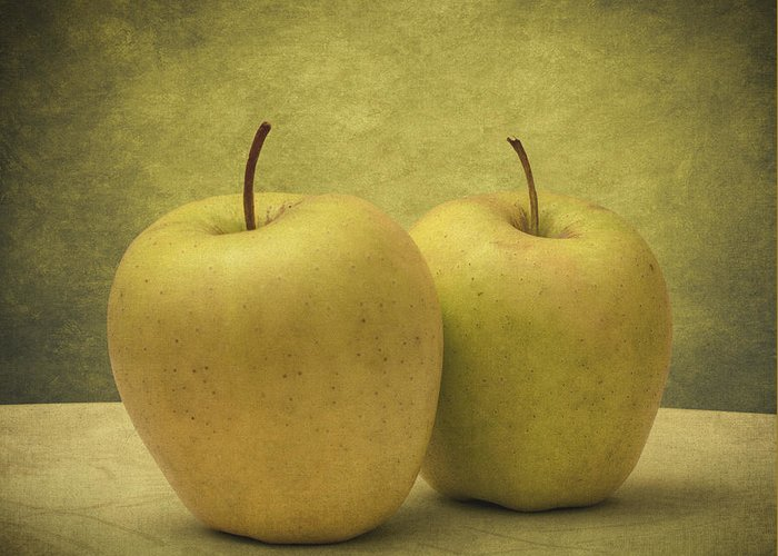Apples Greeting Card featuring the photograph Apples by Taylan Apukovska