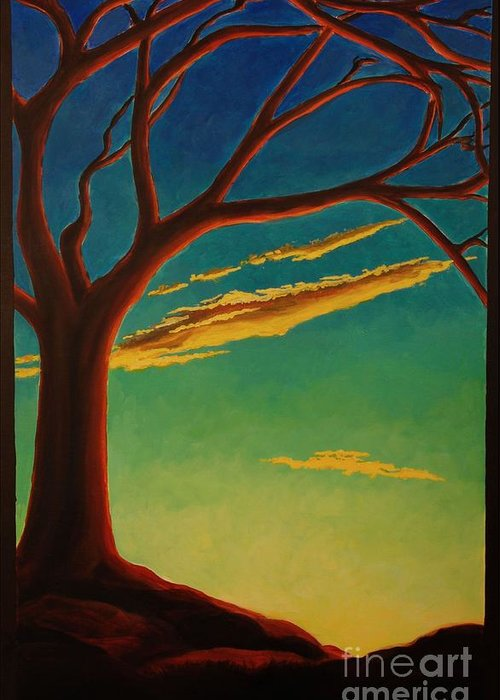 Arbutus Greeting Card featuring the painting Arbutus Bliss by Janet McDonald