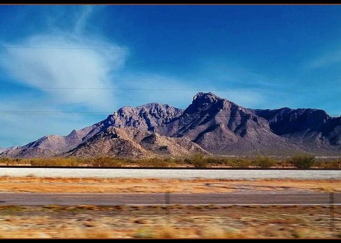 Glenn Mccarthy Art Greeting Card featuring the photograph Arizona - On The Fly by Glenn McCarthy Art and Photography