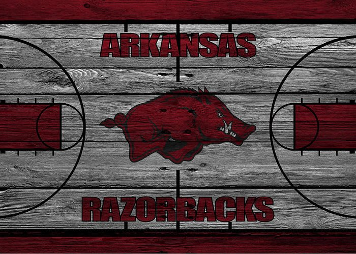 Razorbacks Photographs Greeting Cards