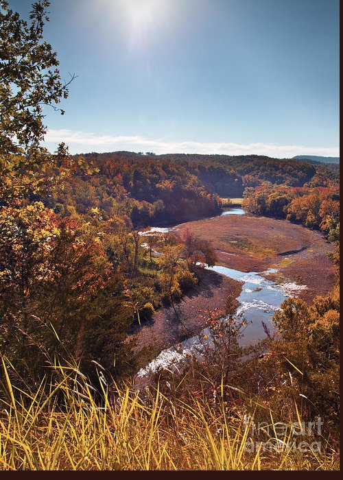 Arkansas Greeting Card featuring the photograph Arkansas Valley by Brandon Alms