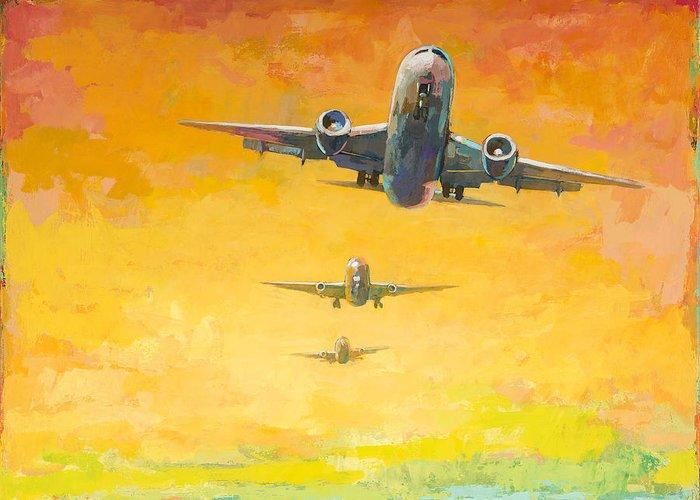 Aircraft Greeting Cards
