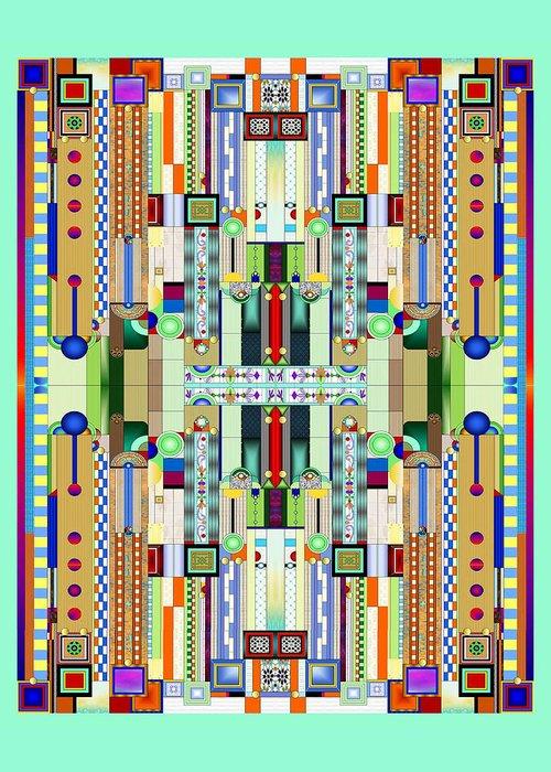 Glass Art Digital Art Greeting Cards