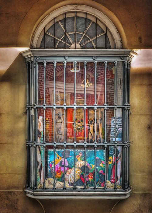 Window Greeting Card featuring the photograph Art For Sale by Brenda Bryant