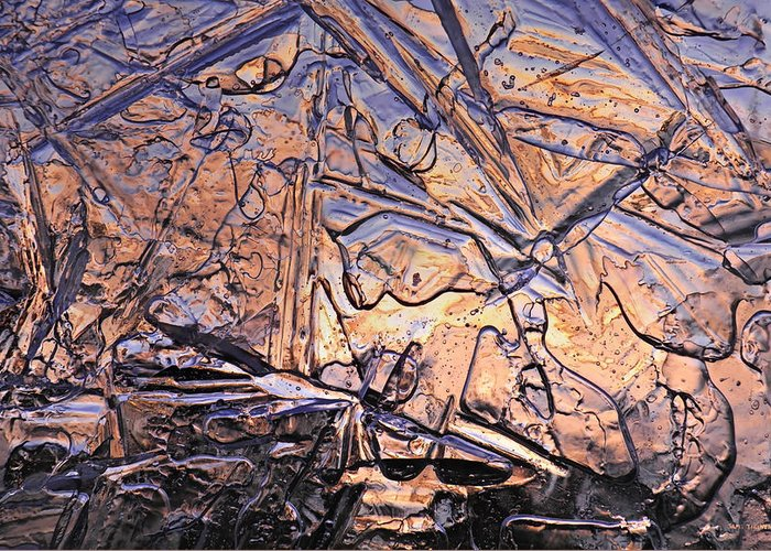 Art Of Ice Greeting Card featuring the photograph Art Of Ice 2 by Sami Tiainen