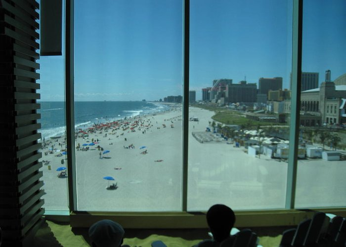 Atlantic Greeting Card featuring the photograph Atlantic City - 12124 by DC Photographer