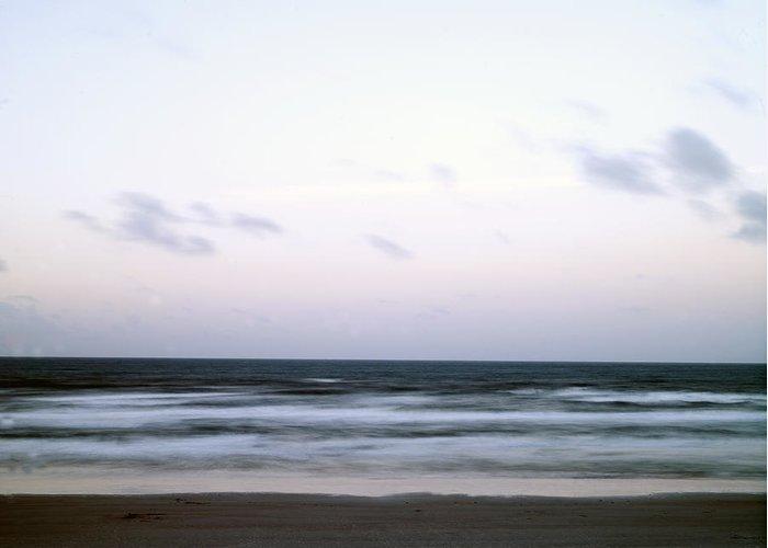 Ocean Greeting Card featuring the photograph Atlantic Dawn by William Ragan