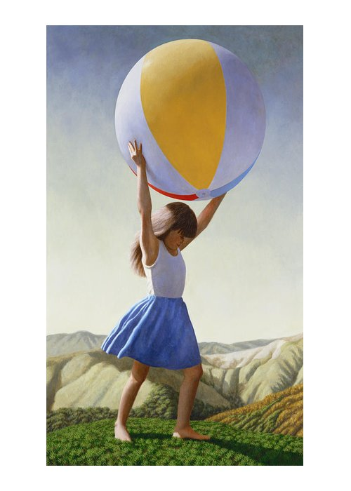 Ball Paintings Greeting Cards