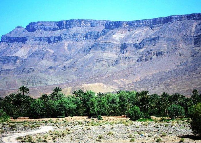 Morocco Greeting Card featuring the photograph Atlas Mountains 47 by Teresa Ruiz